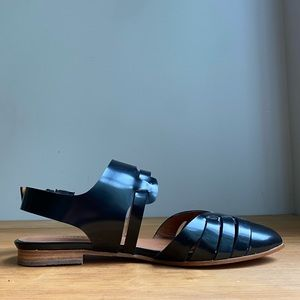Anthropologie | Emma Go | Patent Leather Sandals